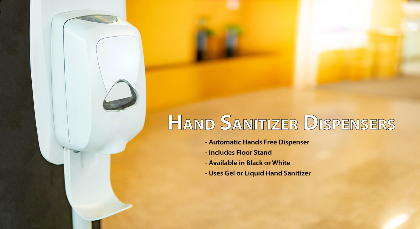 automatic hand free sanitizer dispenser