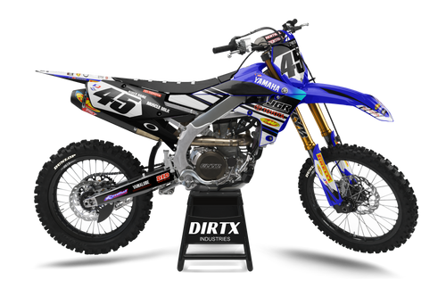 YAMAHA FACTORY JGR COMPLETE GRAPHIC KIT