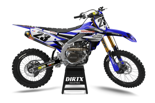 YAMAHA FACTORY TOYOTA COMPLETE GRAPHIC KIT