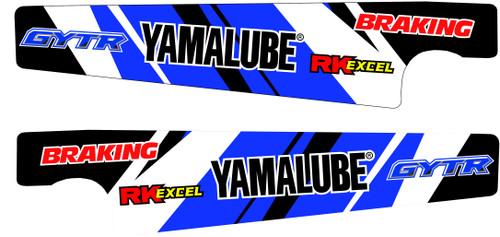 YAMAHA FACTORY YAMALUBE SWINGARM GRAPHIC KIT