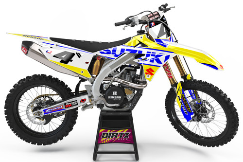 SUZUKI SIGNATURE SERIES EDITION COMPLETE GRAPHIC KIT