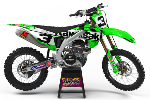 KAWASAKI SIGNATURE SERIES EDITION COMPLETE GRAPHIC KIT