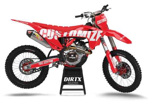 GAS GAS FULL CUSTOM COMPLETE GRAPHIC KIT