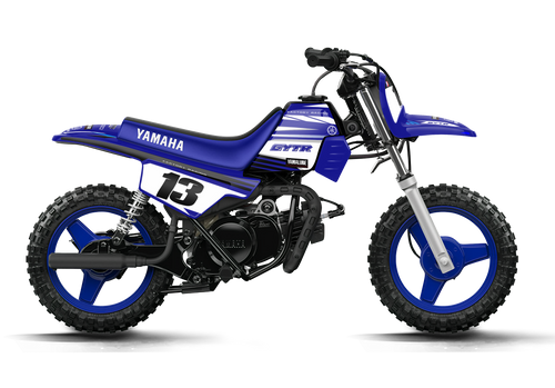 PW 50 YAMAHA FACTORY GYTR COMPLETE GRAPHIC KIT