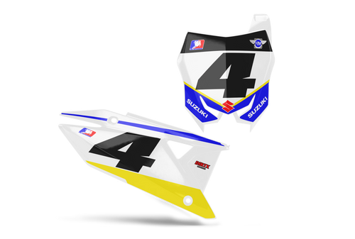SIGNATURE CUSTOM NUMBER PLATE GRAPHIC KIT SUZUKI