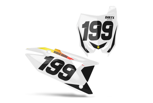 SOBE CUSTOM NUMBER PLATE GRAPHIC KIT SUZUKI