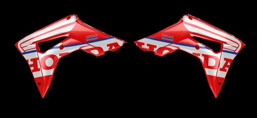 HONDA WINGS RED SHROUD GRAPHIC KIT