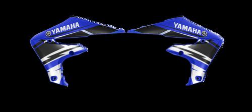 YAMAHA FACTORY RETRO SHROUD GRAPHIC KIT