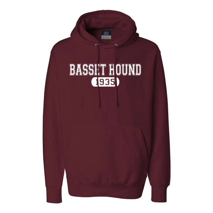 Basset Hound 1935 Hooded Sweatshirt