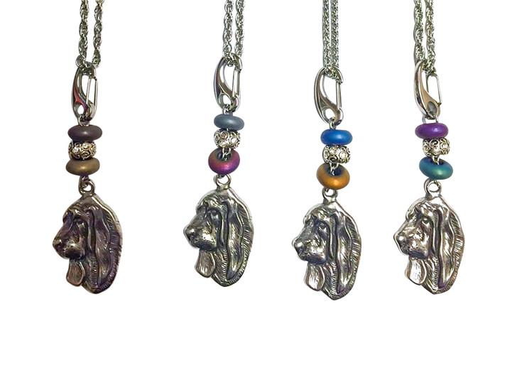 Basset Hound Clip necklace