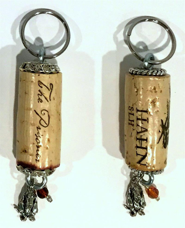 Basset Hound Cork Key Chains