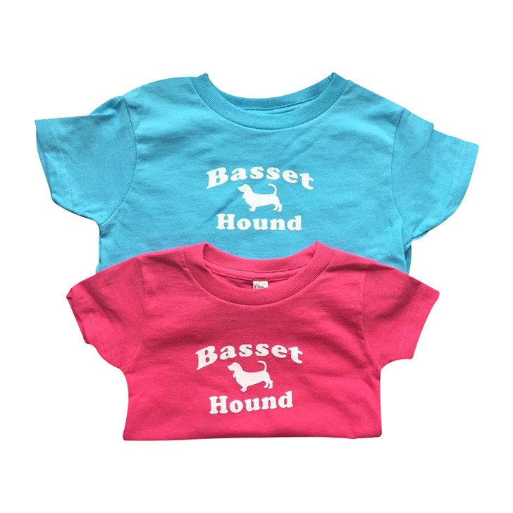 Infant/Toddler Basset Hound T-Shirts