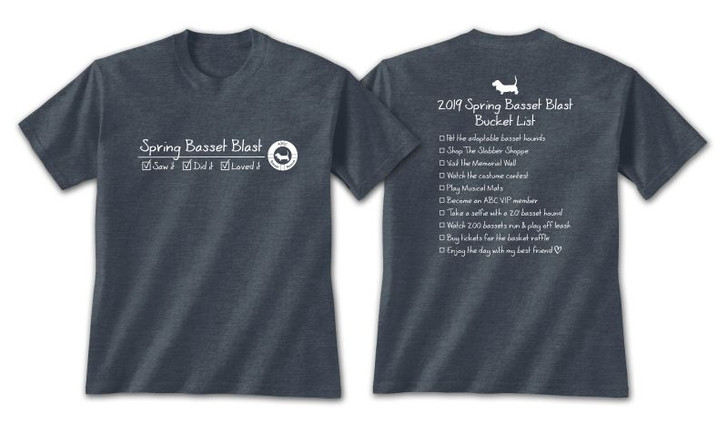 2019 Spring Basset Blast T-Shirt