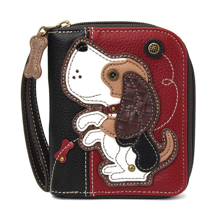 Chala Zip Around Wallet Dog Gen II