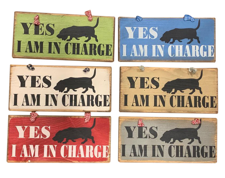 yes, I'm in charge sign