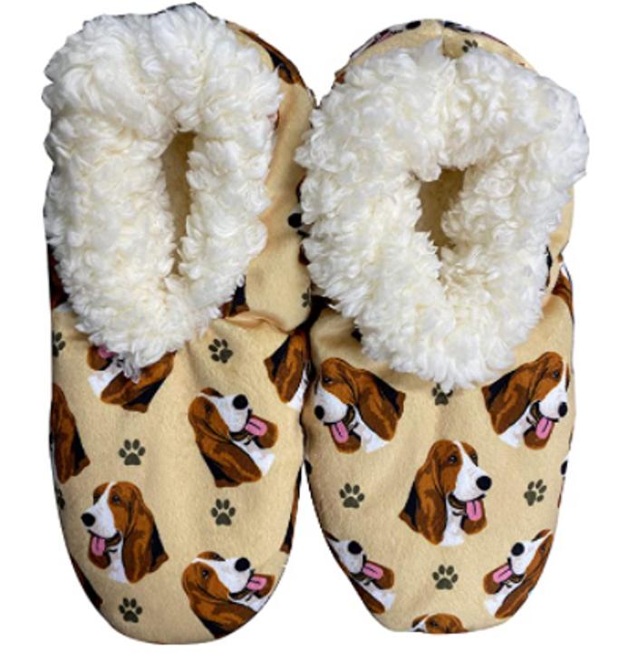 Basset Hound Slippers