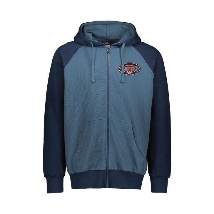 basset hound patch hoodie