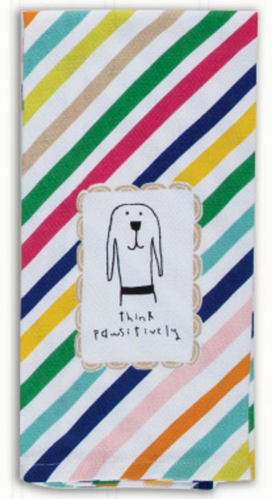 Pet-itudes tea towel