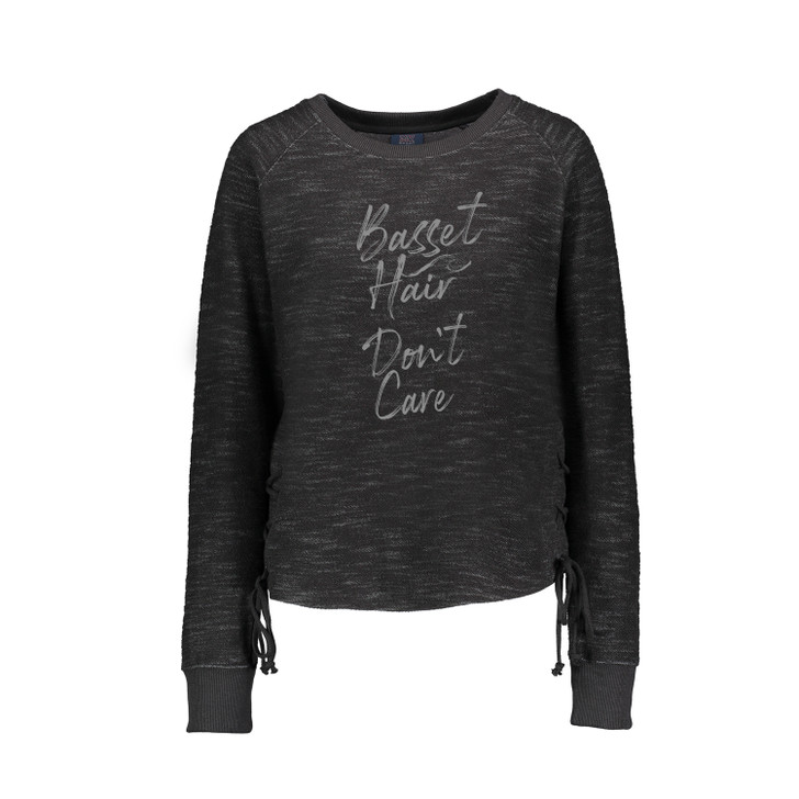 Basset Hair Don't Care shirt