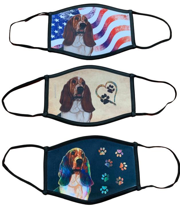 basset hound masks