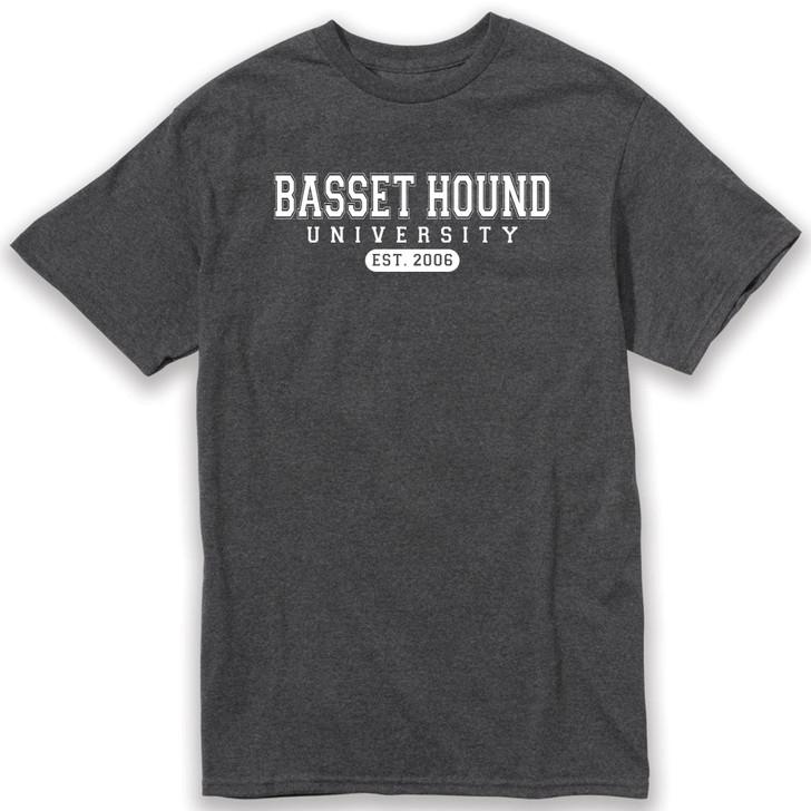 Basset Hound University T-shirt