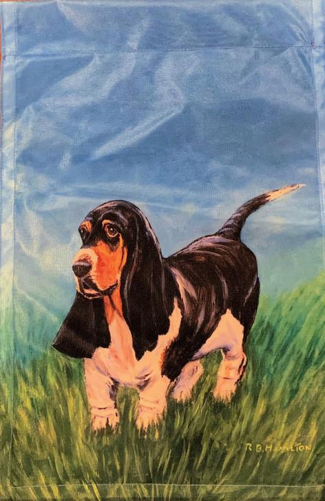 basset hound flag