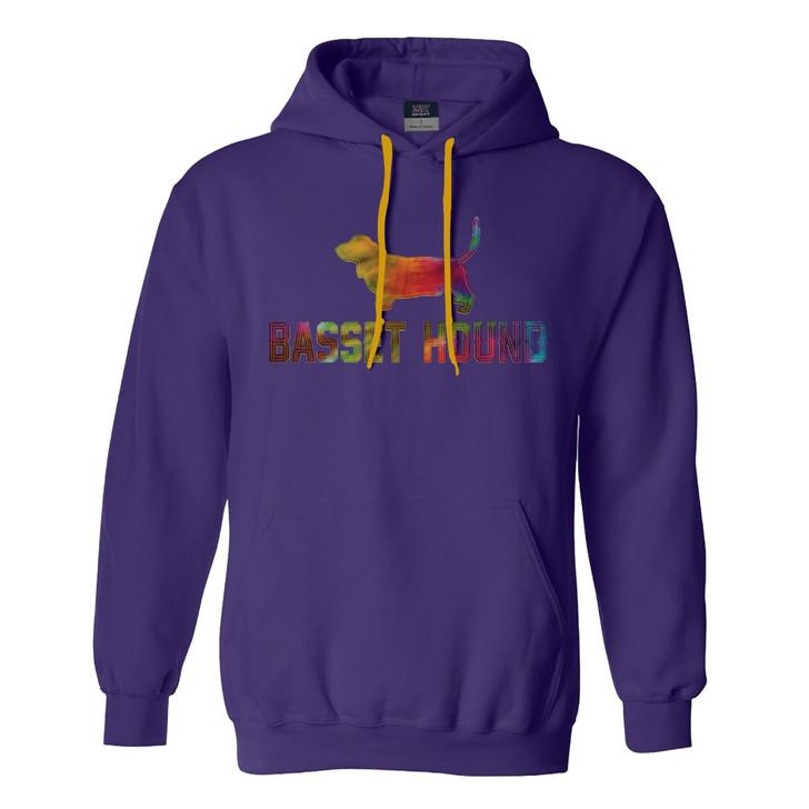 basset hound hoodie