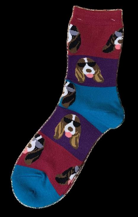 Cool Basset Socks