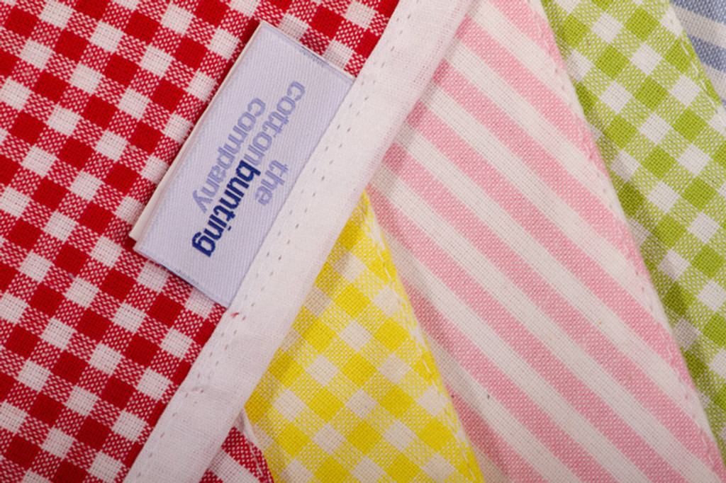 English Country Bunting Close Up