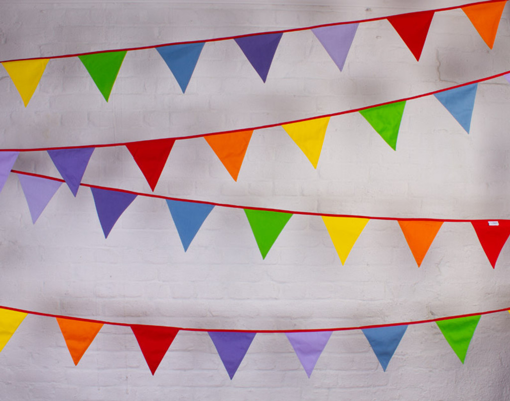 Multi-Coloured Bunting Hanging