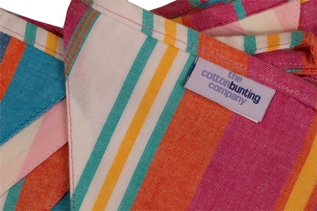 Indian Summer Bunting Close Up