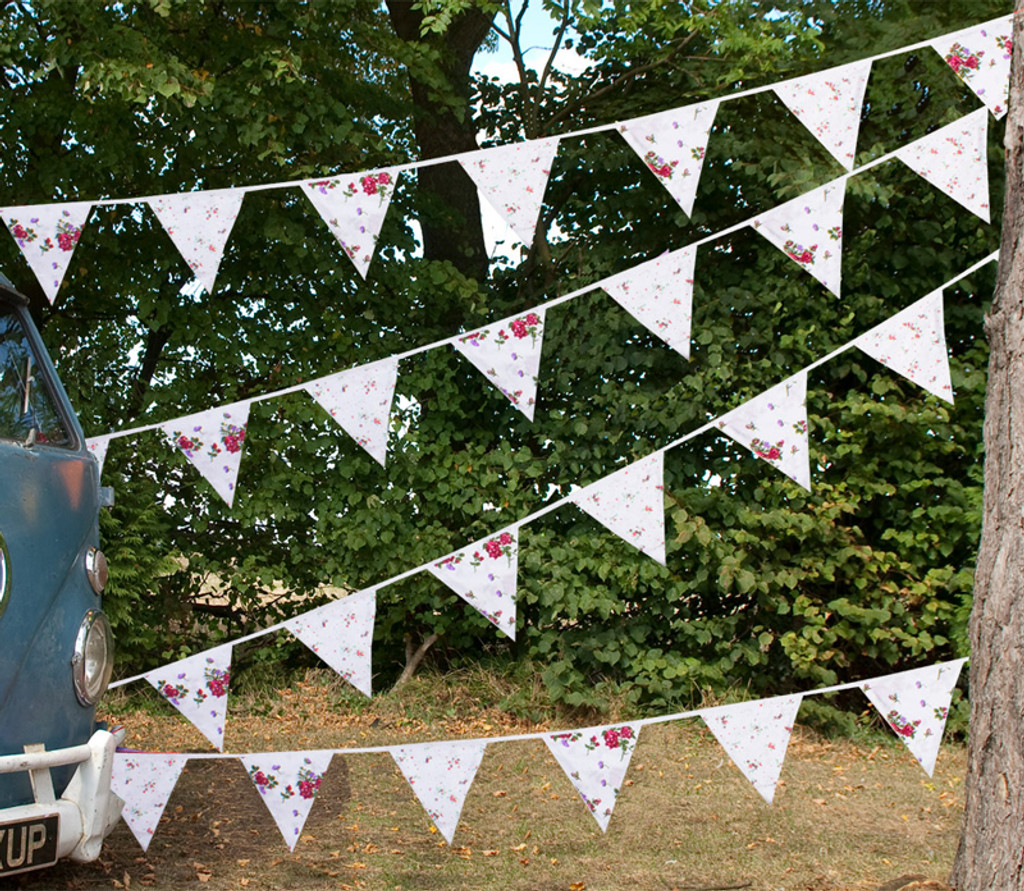 Pretty Floral Bunting