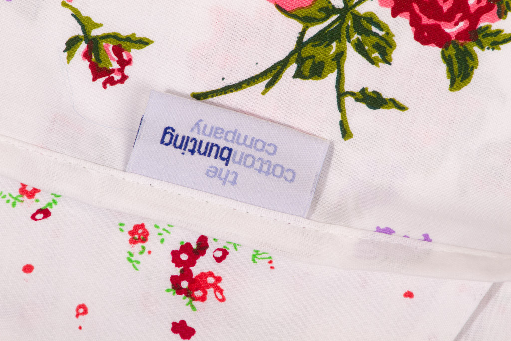 Floral Garden Bunting Close Up