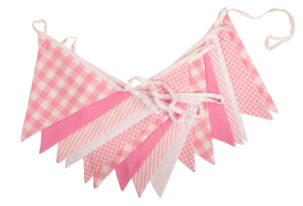 Shades of Pink Bunting
