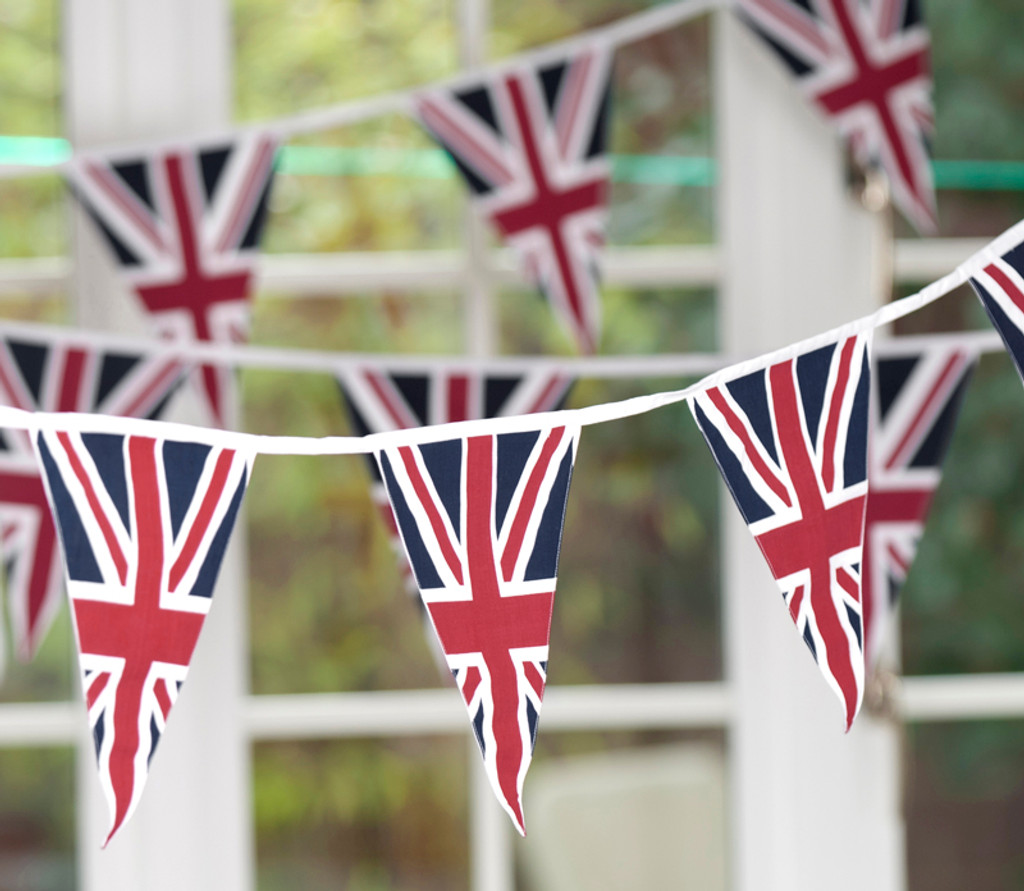 Vintage Union Jack Bunting (heavy weave, single-sided)
