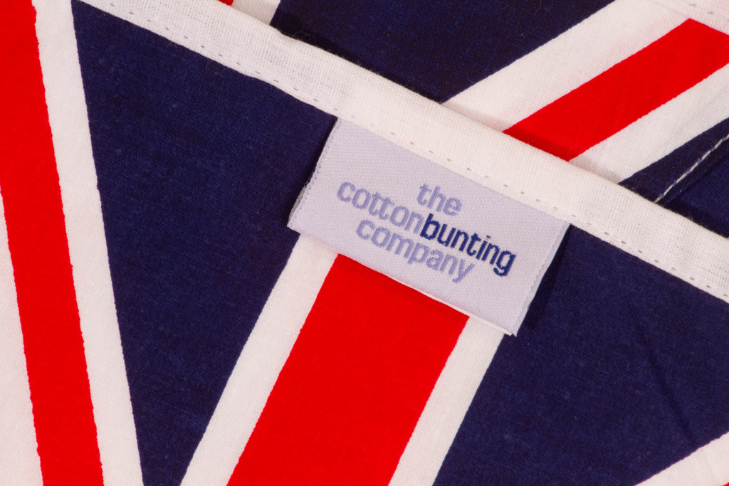 Union Jack Bunting Close Up