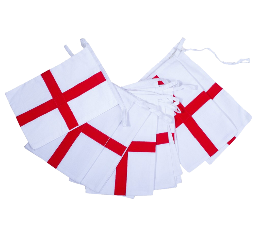 England St George Football Cotton Bunting UK