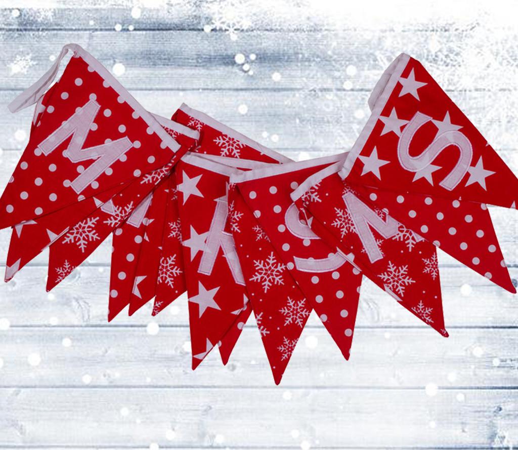Merry Christmas Bunting