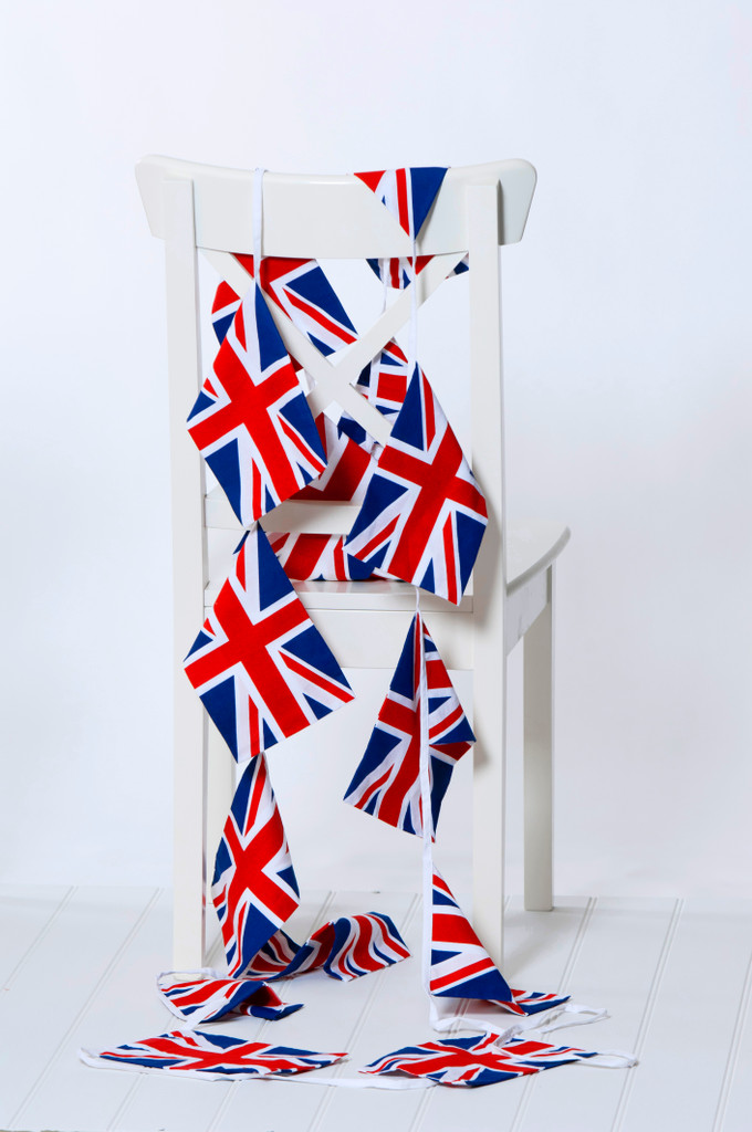 Cotton Union Jack Bunting