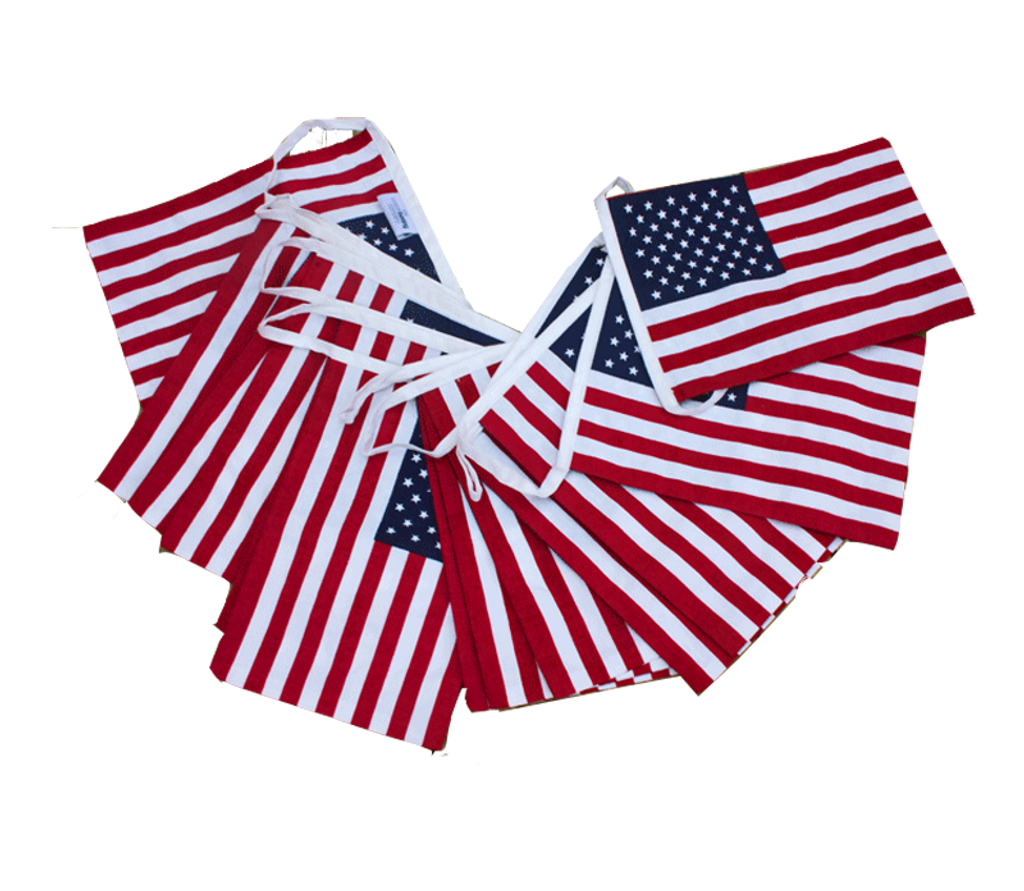 USA American Flag Bunting