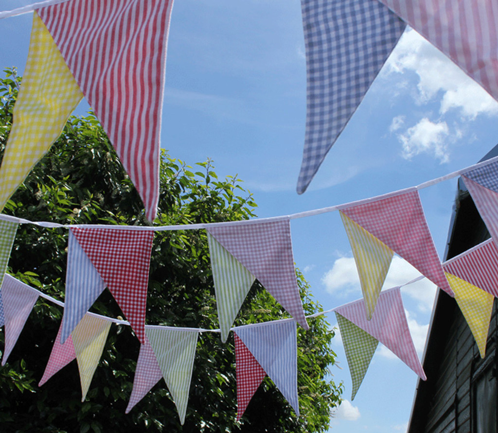 Country Fabric Bunting