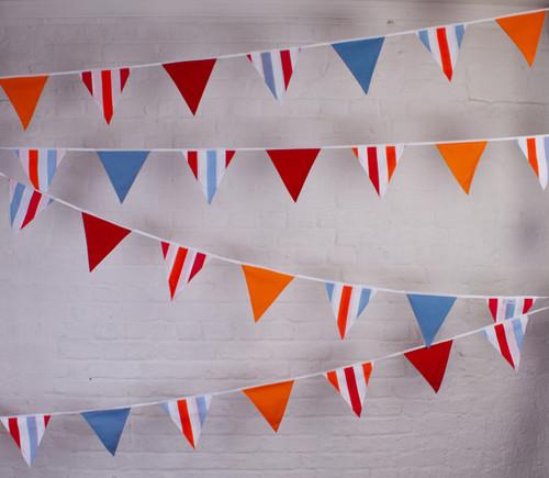 Garden Party Bunting Fabric Bunting UK