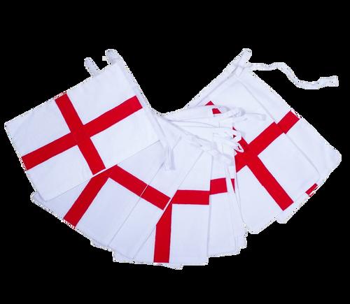 England St George Football Cotton Bunting UK