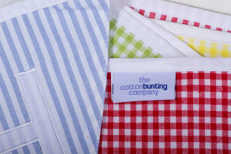 English Country Happy Birthday Bunting Close Up