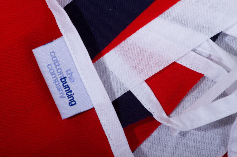 Economy Red White & Blue Bunting Close Up