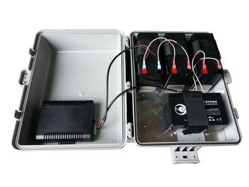 Tycon Systems UPS-PL2424HP-18 UPSPRO - 24V 18Ah Battery, 24V POE Backup System - Solar Ready