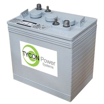 Tycon Systems TPBAT6-180 6V 180AH GEL Sealed Lead Acid Battery