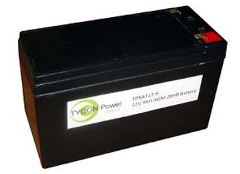Tycon Systems TPBAT12-9 12V 9AH AGM SLA BATTERY (TPBAT12-9)