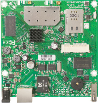 MikroTik RB912UAG-5HPnD 1000mW 5GHz11a/n 600Mhz OSL4 64MB mPCIe