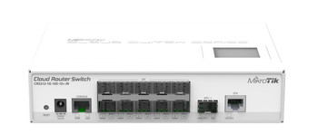 Mikrotik CRS212-1G-10S-1S+IN Cloud Router Switch - Gigabit Switch 24 port Front